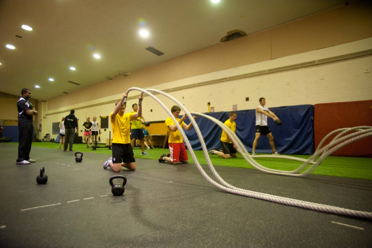 Warrior High Performace Zone (photo courtesy of University of Waterloo Athletics)