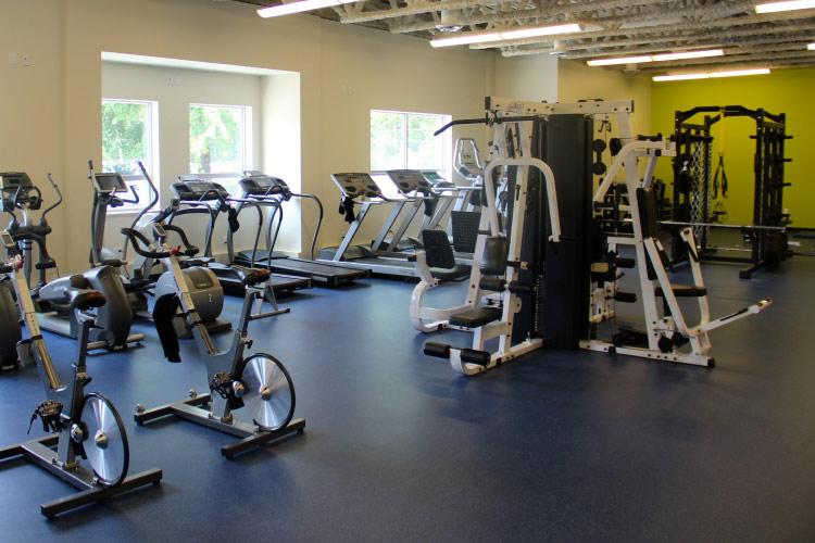 Fitness Centre (photo courtesy of TWU)