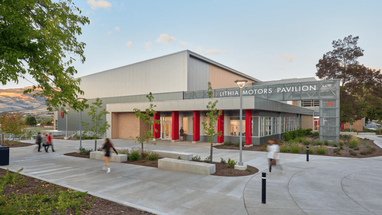 Lithia Motors Pavilion Student Recreation Center