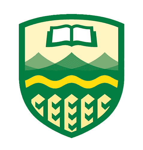 University of Alberta Golden Bears and Pandas logos