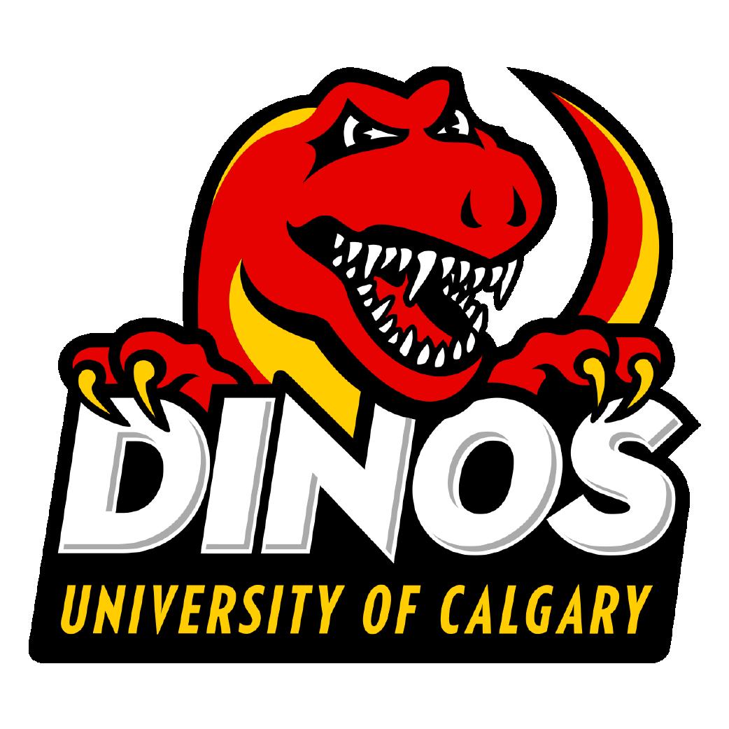 University of Calgary Dinos logo