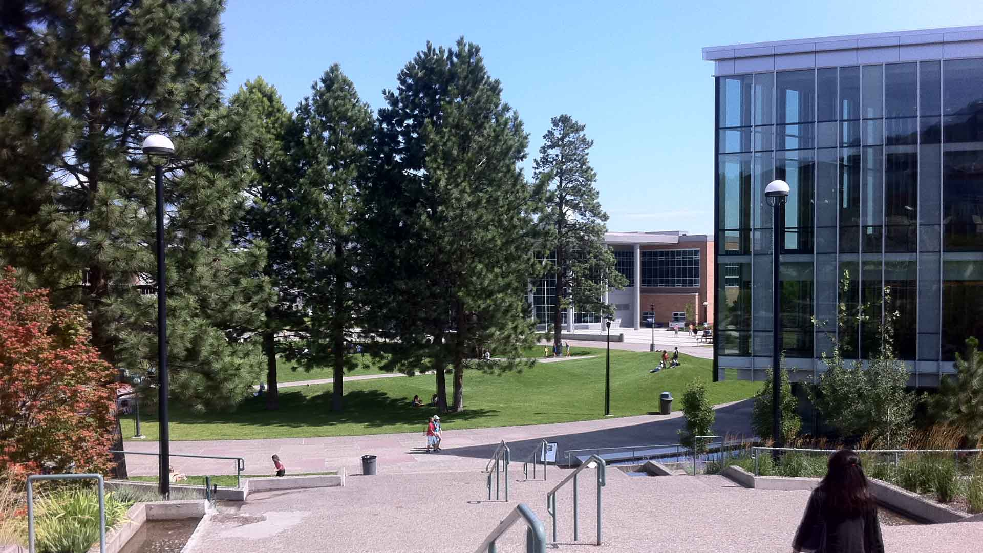 Brown Hall at Thompson Rivers University campus