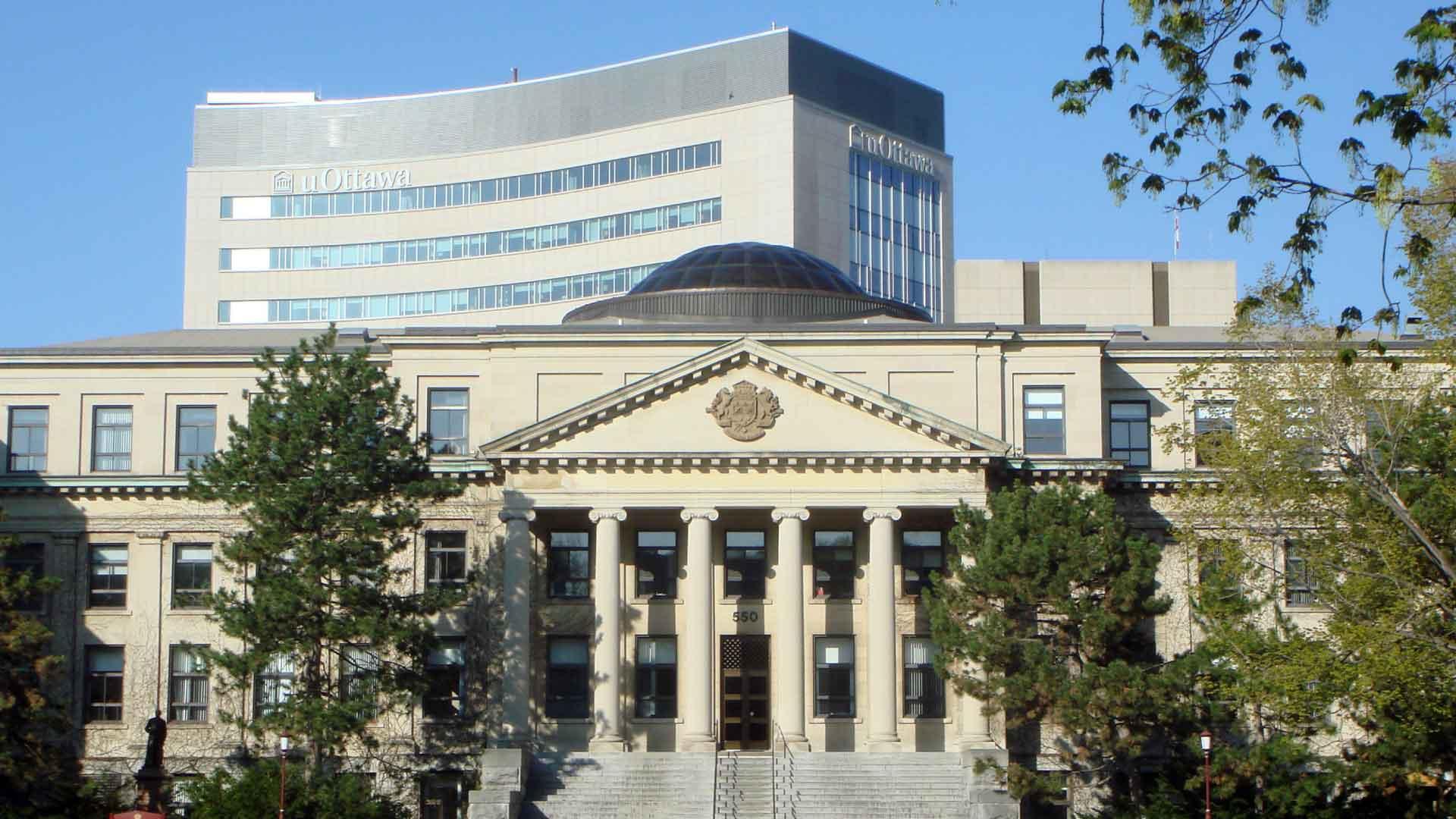 Tabaret Hall at the University of Ottawa