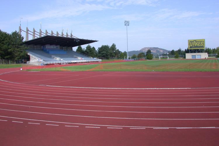 Centennial Stadium outdoor track