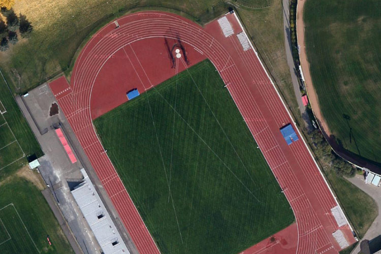 Foothills Athletic Park (photo courtesy of Daily Track Pic)