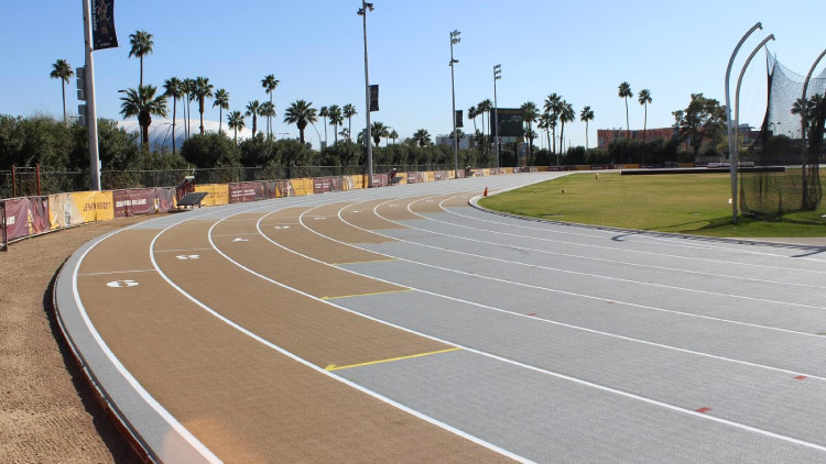Sun Angel Stadium Joe Selleh Track