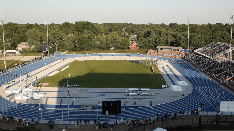 Outdoor Track & Field Facility