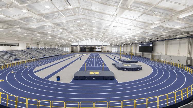 U M Indoor Track Building