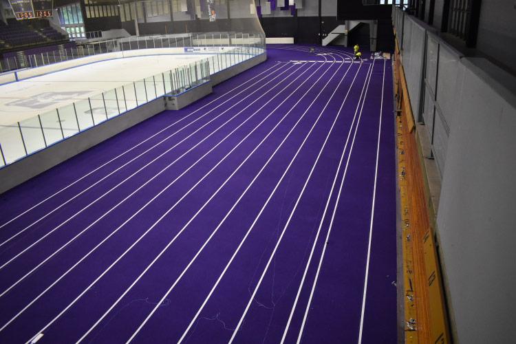 Thompson Arena Athletic Centre indoor track
